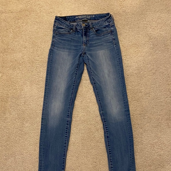 American Eagle Jeans sz 4 Jeans Jegging stretch